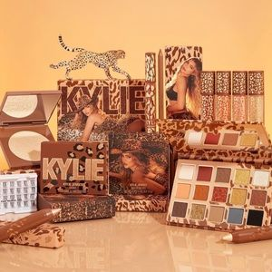 🤎New Kylie Cosmetics Leopard/Bday Makeup Bundle🤎